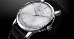 Introducing The Replica Ultra Thin Zenith Elite 6150 Stainless Steel Leather Strap Watch