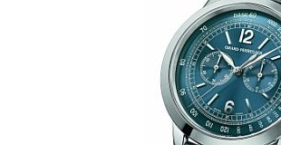 Girard-Perregaux 1966 Blue Chronograph watch