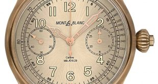 MontBlanc 1858 Chronograph Tachymeter replica watch