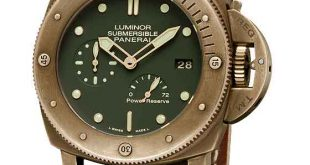 Panerai PAM00507 Luminor Submersible Bronzo - front