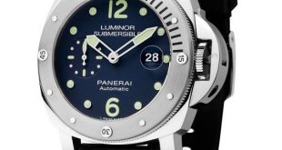 Panerai Luminor Submersible Acciaio LE - soldier
