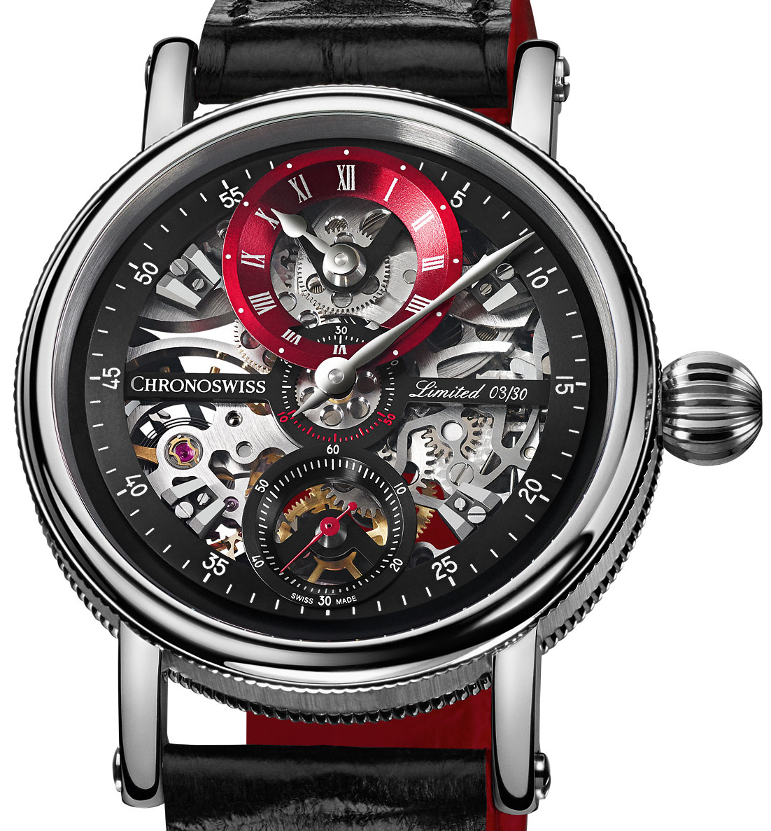 Chronoswiss Sirius Flying Grand Regulator Skeleton Chronoswiss Watches History Replica Watch Releases