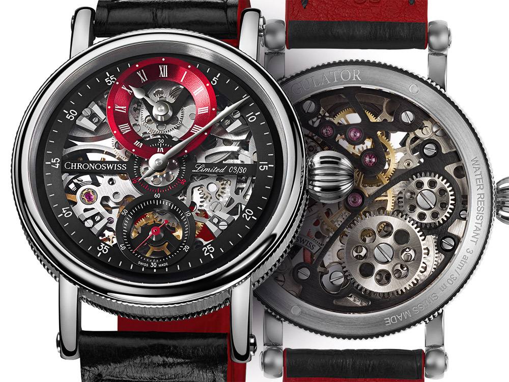 Chronoswiss Sirius Flying Grand Regulator Skeleton Watch Watch Releases