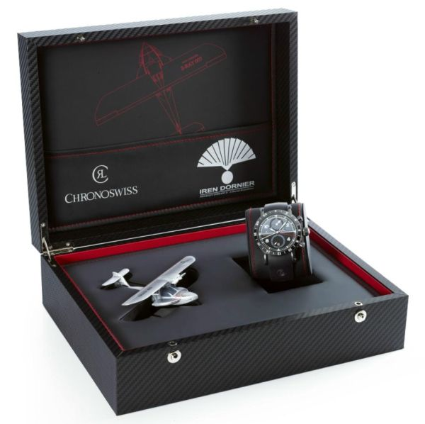 Chronoswiss Timemaster Chrono GMT Limited Edition Chronoswiss Leather Watch Band Replica Watch Releases