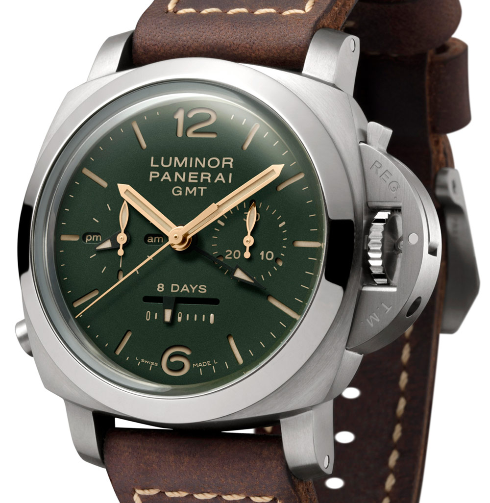 Panerai Green Dial Limited Edition PAM735, PAM736, & PAM737 Collection Watches Watch Releases