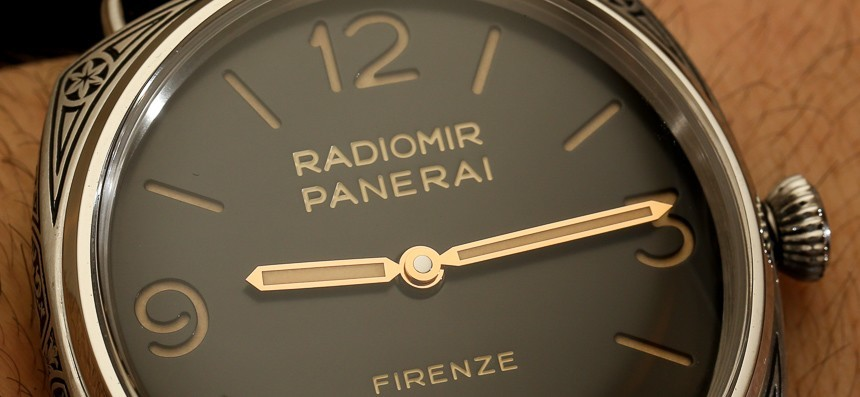 Panerai Radiomir Firenze 3 Days Acciaio PAM604 Limited Edition Engraved Watch Hands-On Hands-On