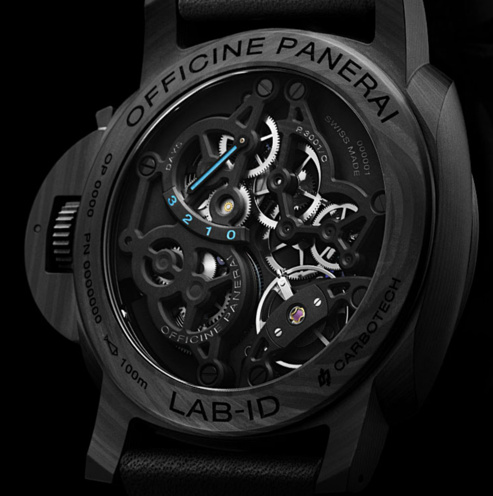 Panerai LAB-ID Luminor 1950 Carbotech 3 Days PAM 700 Watch Has A 50-Year Guarantee Watch Releases