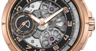Armin Strom Edge Double Barrel Watch In Rose Gold Watch Releases