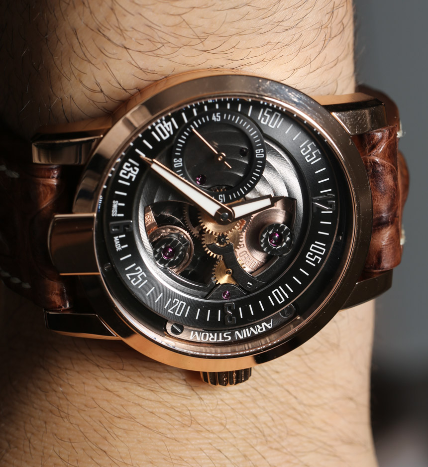Armin Strom Gravity Fire Watch Hands-On Hands-On