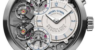 Armin Strom Mirrored Force Resonance Water Watch In Steel Watch Releases