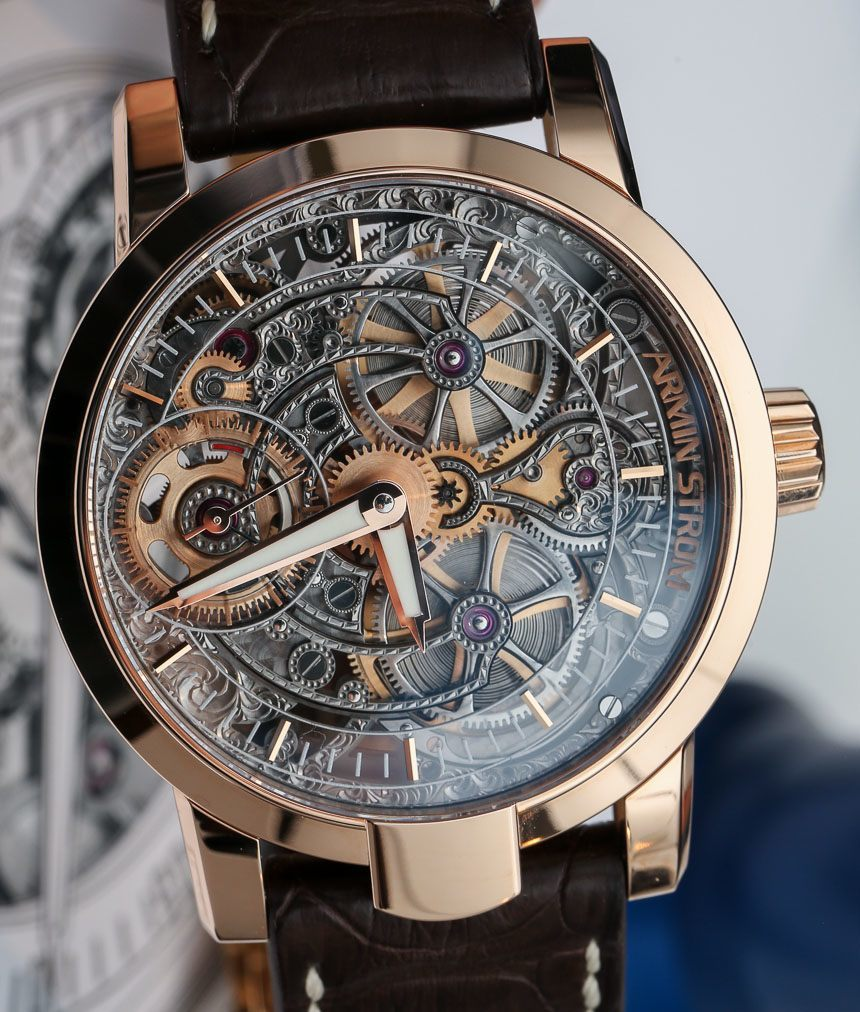 Armin Strom One Week Skeleton Watch Hands-On: Engraved & Beautiful Hands-On